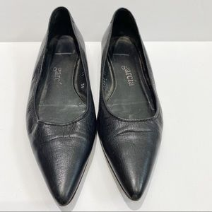 Pedro Garcia pointed toe leather flats